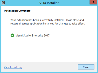 Install Dynamics 365 Developer Toolkit with Visual Studio 2017
